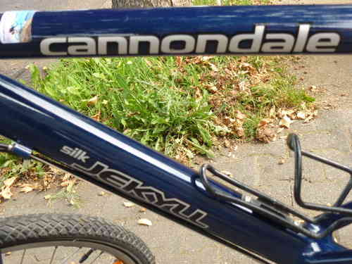 27 speed cannondale 26 inch Rh 48 fork u saddle Luftgefedert with hub dynamo
